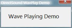 用DirectX Audio和DirectShow播放声音和音乐(3) - 第1张  | 逗分享开发经验