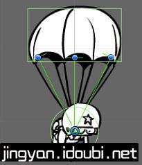 使用Unity模拟降落伞效果 - 第1张  | 逗分享开发经验